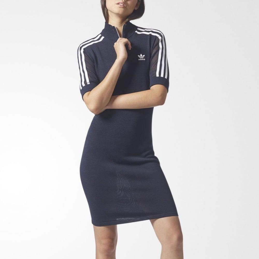 adidas 3 stripe dress