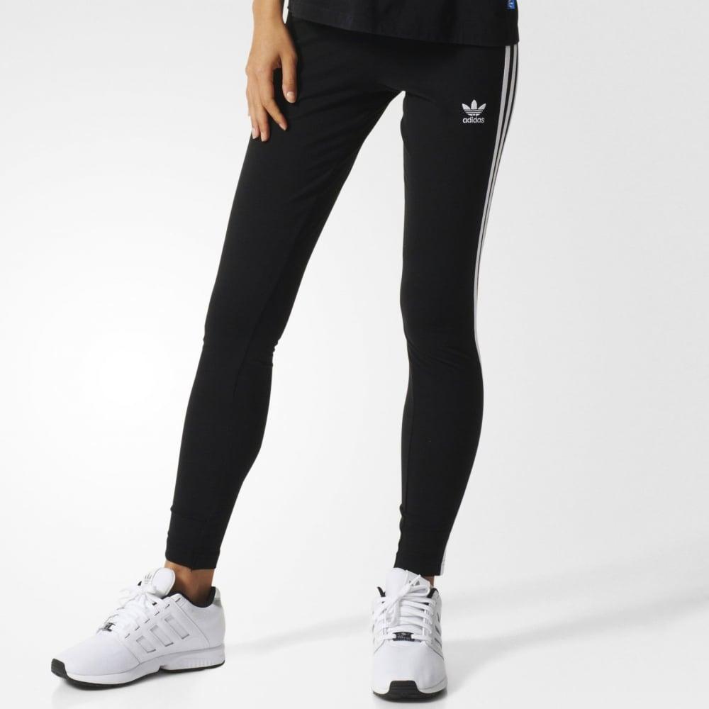 Adidas 3 Stripes Leggings Womens