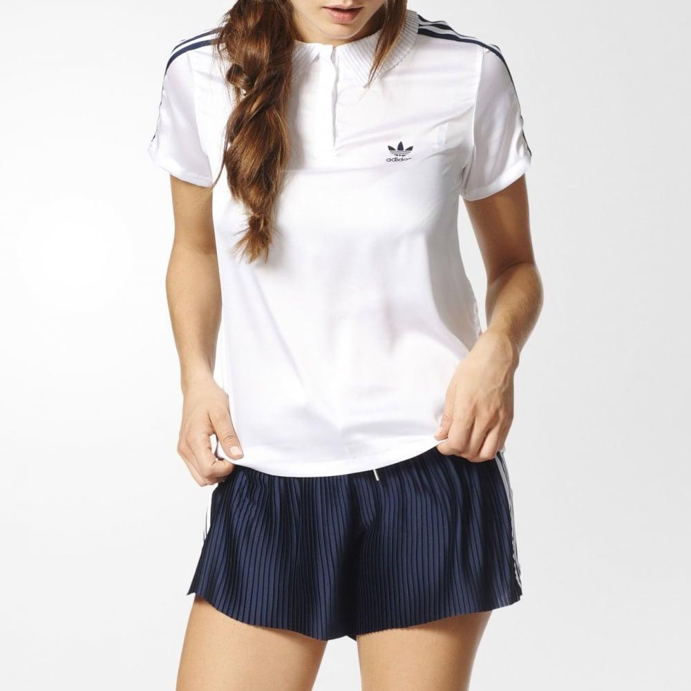 adidas 3 stripe shirt womens
