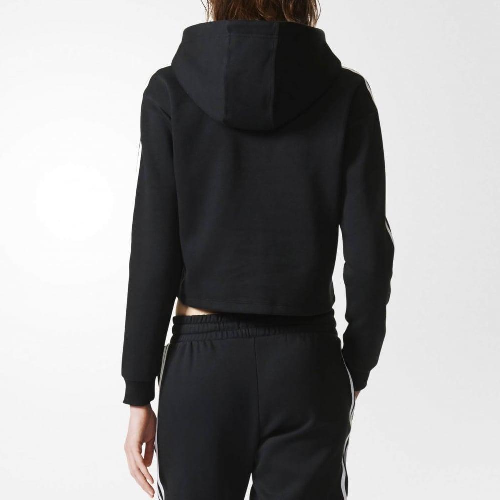adidas originals 3 stripe hoodie