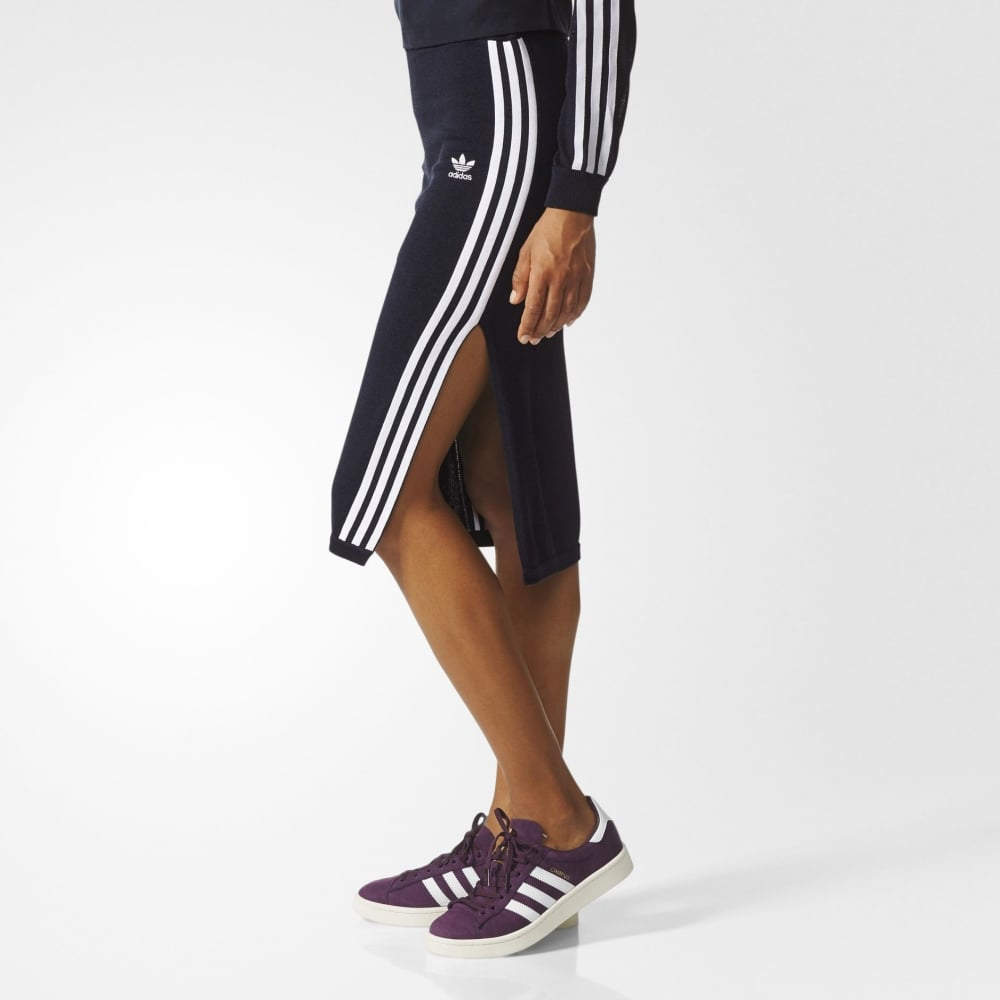 508678f3d6b12 Adidas Originals 3 Stripes Skirt - Womens Clothing from Cooshti.com
