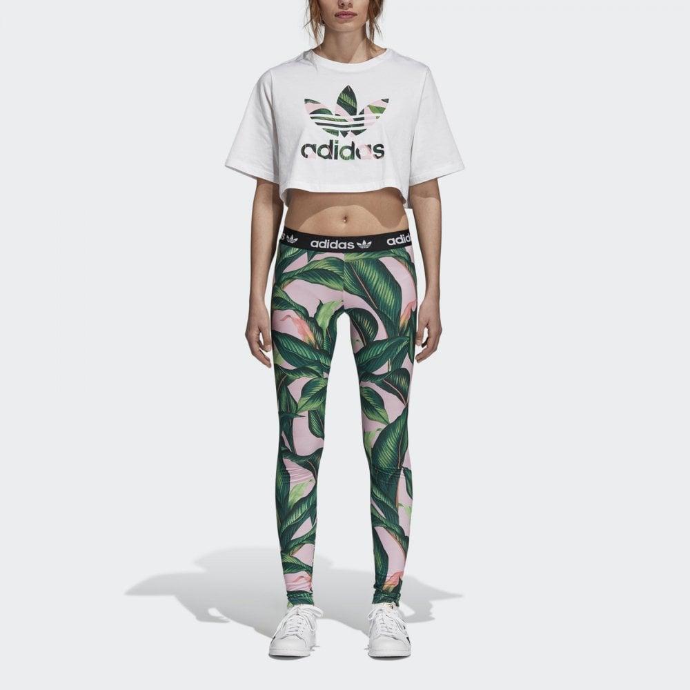 5c6b183600832 Adidas Originals adidas X FARM Tights - Womens Clothing from Cooshti.com