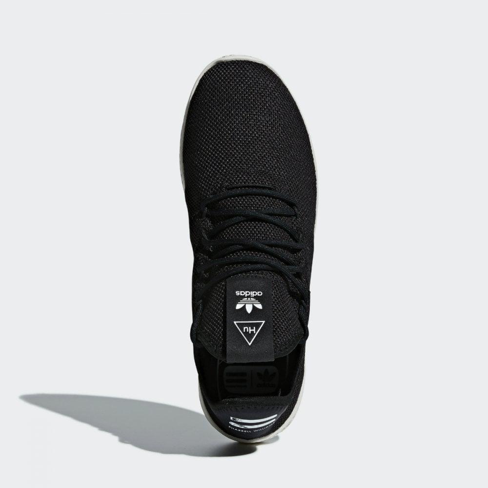 hot sales official photos best wholesaler Adidas x Pharell Williams PW Tennis HU - Black / White