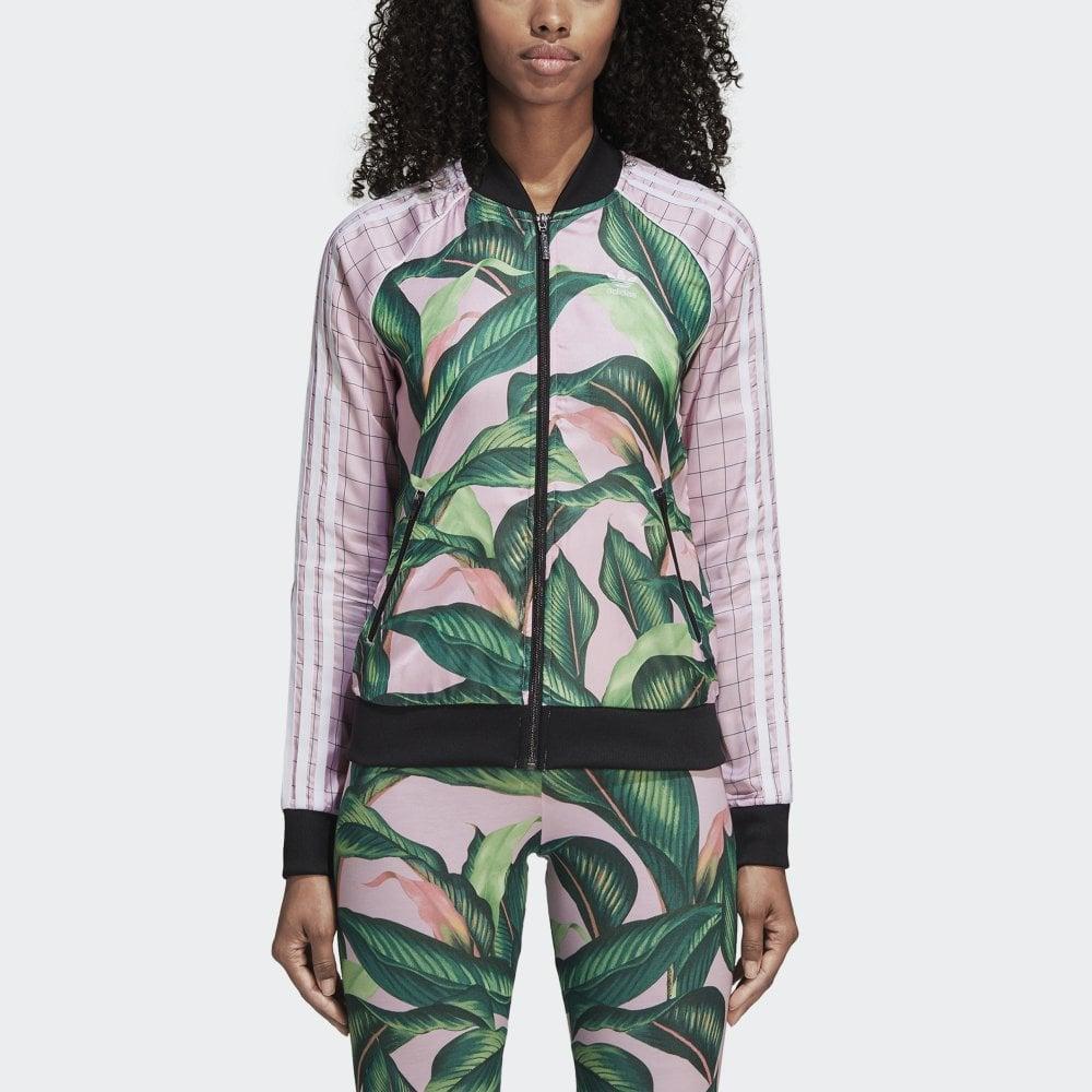 buy popular 53841 55712 adidas X The FARM Women  039 s SST Track Jacket