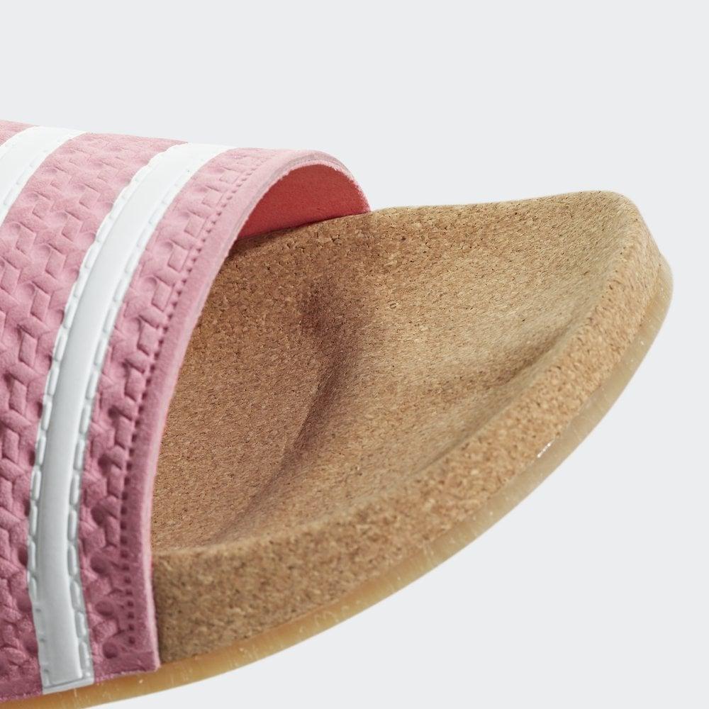75de07bebe6d Adidas Originals Adilette Cork Slides Women s - Womens Footwear from ...