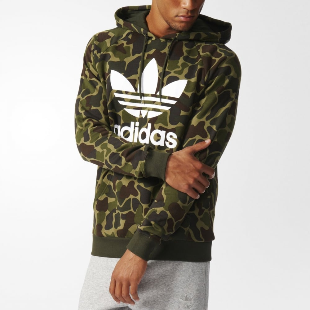 Adidas Originals Camouflage Hoodie - Mens Clothing from Cooshti.com 621975701f2