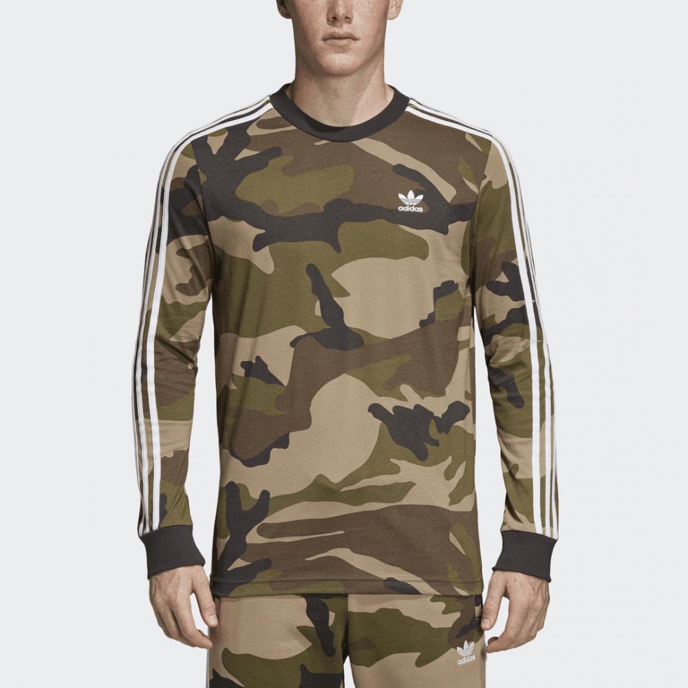 2c855357d9066 Adidas Originals Camouflage Tee LS - Mens Clothing from Cooshti.com