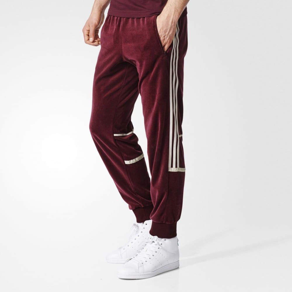 028301a7a303 Adidas Originals Challenger Velour Track Pants - Mens Clothing from ...