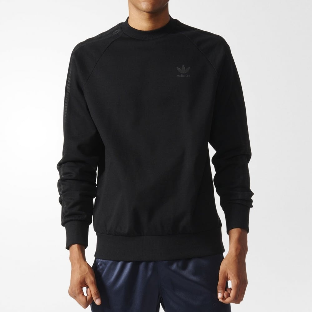 informazioni per acquisto autentico scarpe sportive Adidas Originals Deluxe Crew Sweatshirt - Mens Clothing from ...