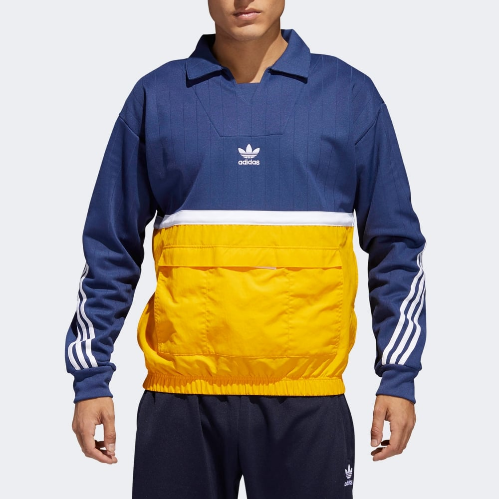 Oxido Estricto Sala  Adidas Originals Drill Pullover - Mens Clothing from Cooshti.com