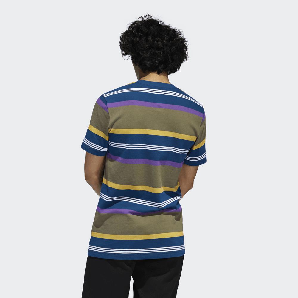 adidas Originals 3 Striped LS Pique Shirt Black M for sale