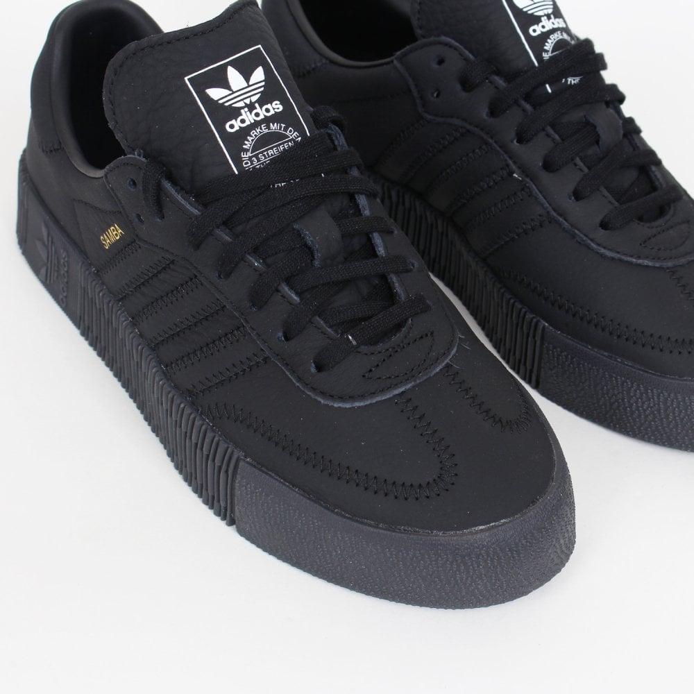 3d450365a4c Adidas Originals Sambarose Women s - Triple Black - Womens Footwear ...
