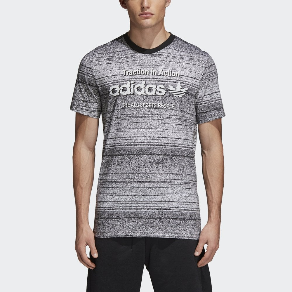 d6bf9e1eff83 Adidas Originals Traction In Action Tee - Mens Clothing from Cooshti.com