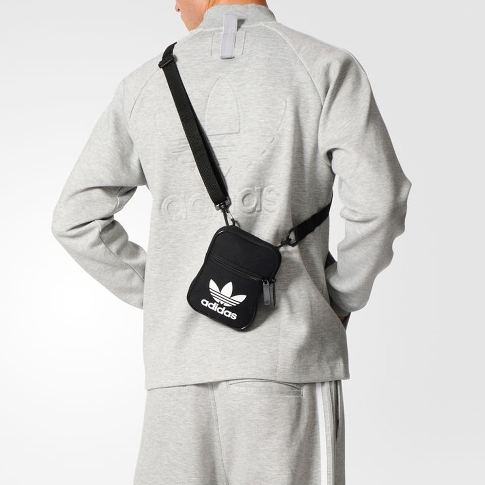 5ca538fc99df Adidas Originals Trefoil Festival Bag - Mens Accessories from ...