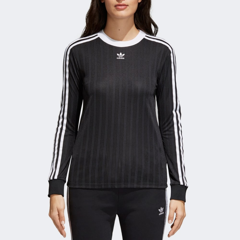 6599a687ac3 Adidas Originals Womens 3-Stripes Tee Longsleeve - Womens Clothing ...