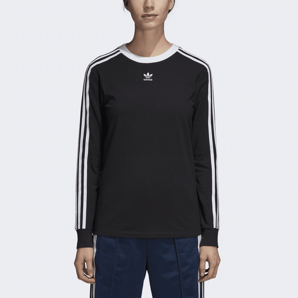 Adidas Originals Women s 3-Stripes Tee LS - Womens Clothing from ... be3243a55cf
