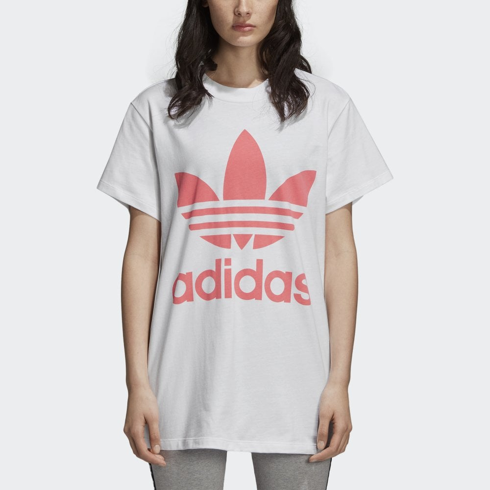 4b968b9acfcb Adidas Originals Women s Big Trefoil Tee - Womens Clothing from ...