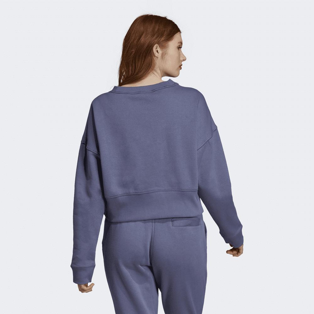 9f3150002c Adidas Originals Women's Coeeze Crop Sweatshirt - Womens Clothing ...