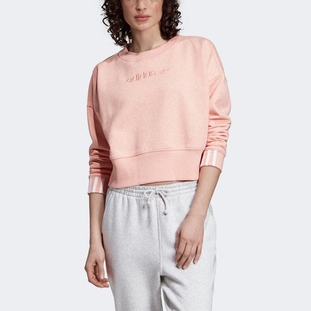Adidas Originals Women's Coeeze Crop Sweatshirt