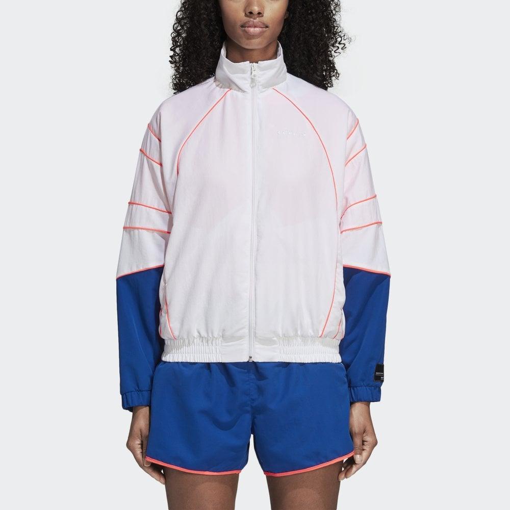 67c5729b35 Adidas Originals Women's EQT Track Jacket - Womens Clothing from ...