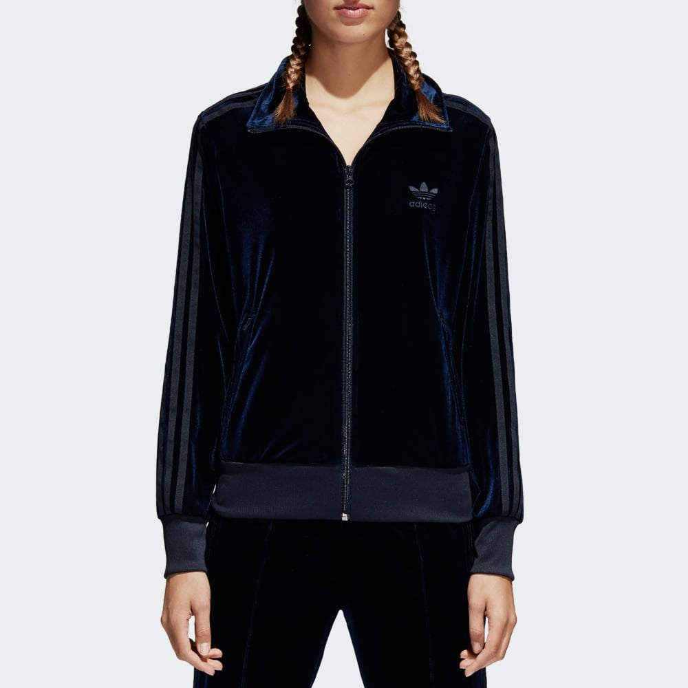 3b07b2bce171 Adidas Originals Womens Firebird Track Top - Velvet - Womens ...