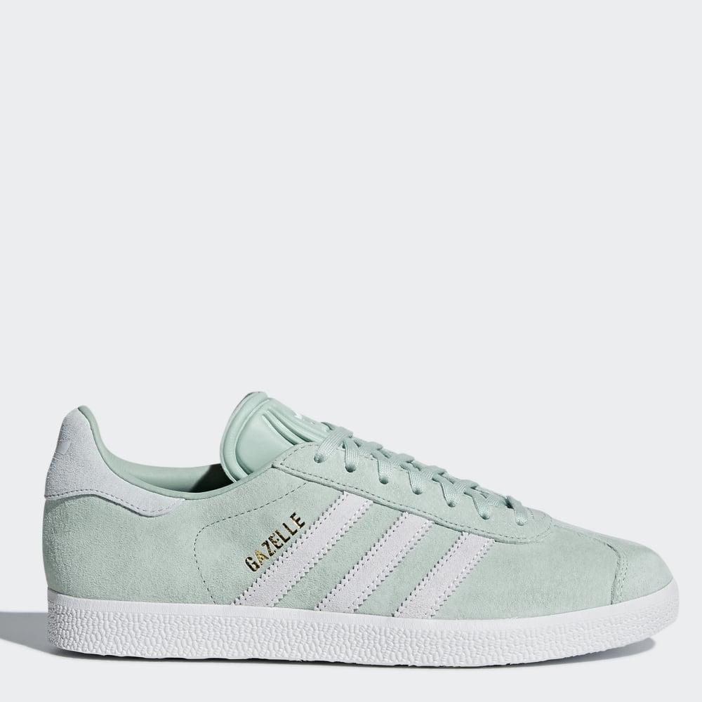 1a72717952df Adidas Originals Women's Gazelle 'Ash Green' - Womens Footwear from  Cooshti.com