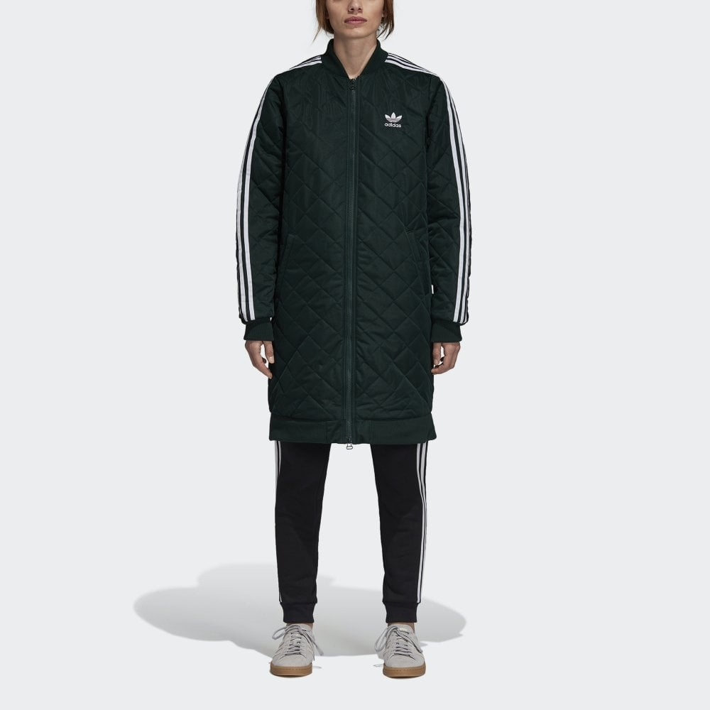 Adidas Originals Women's Long Bomber Jacket