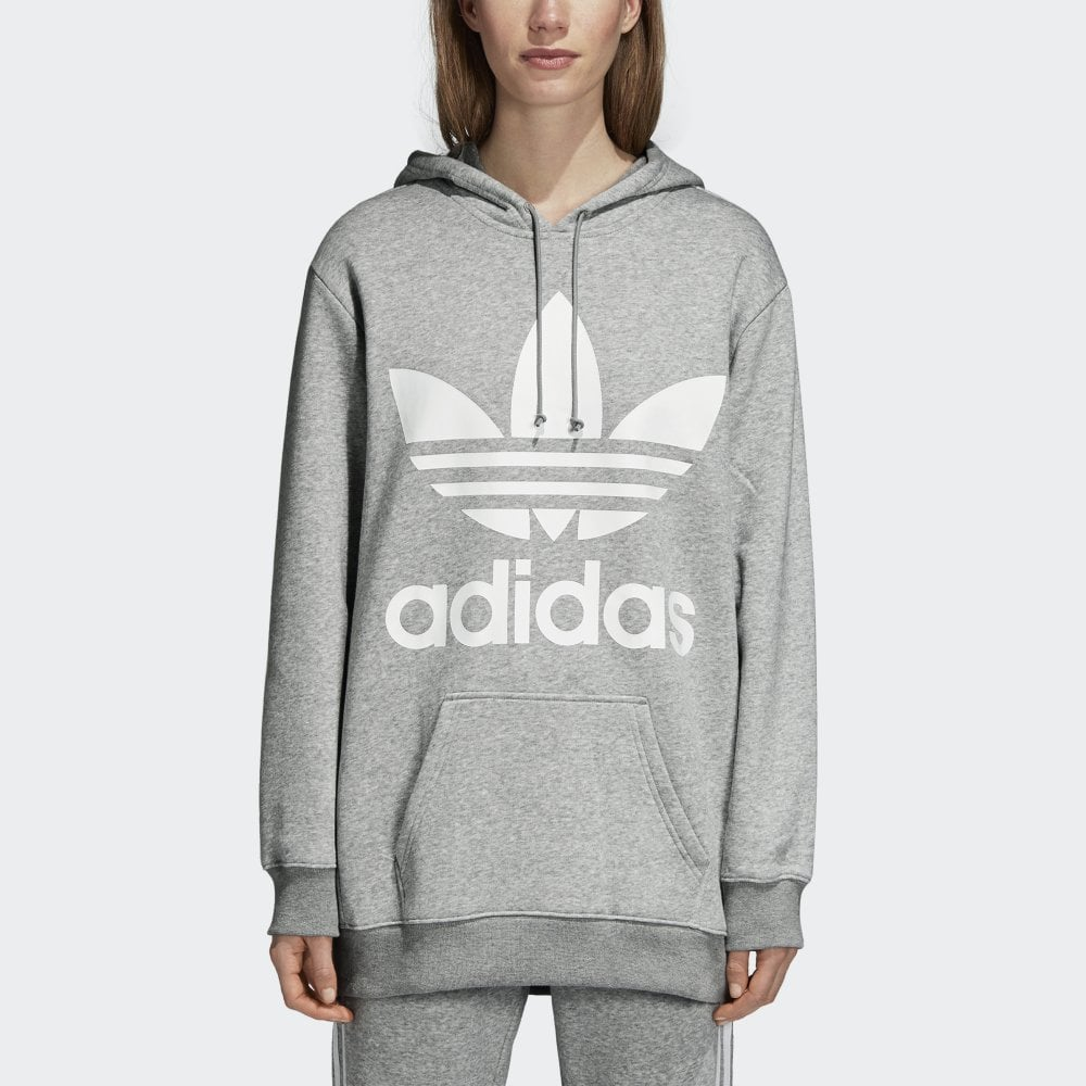 af1675d2 Adidas Originals Women's Oversize Trefoil Hoodie - Womens Clothing from  Cooshti.com