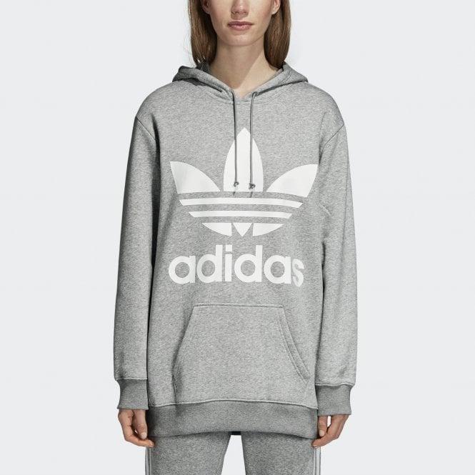 outlet boutique outlet on sale super cheap Adidas Originals Women's Oversize Trefoil Hoodie