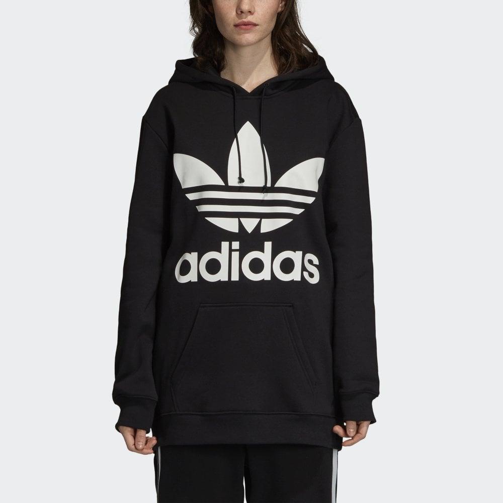 Adidas Originals Women's Oversized Trefoil Hoodie