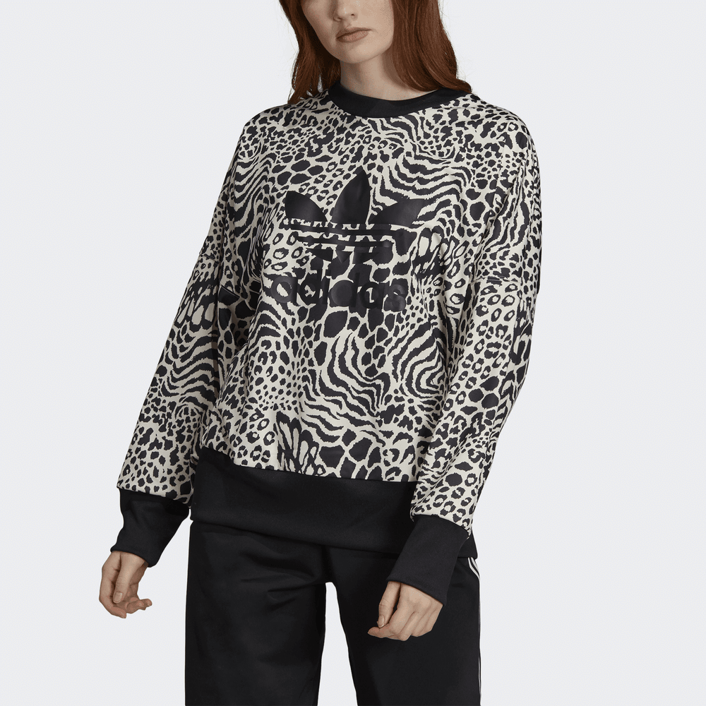 ADIDAS ORIGINALS – Leopard Sweatshirt