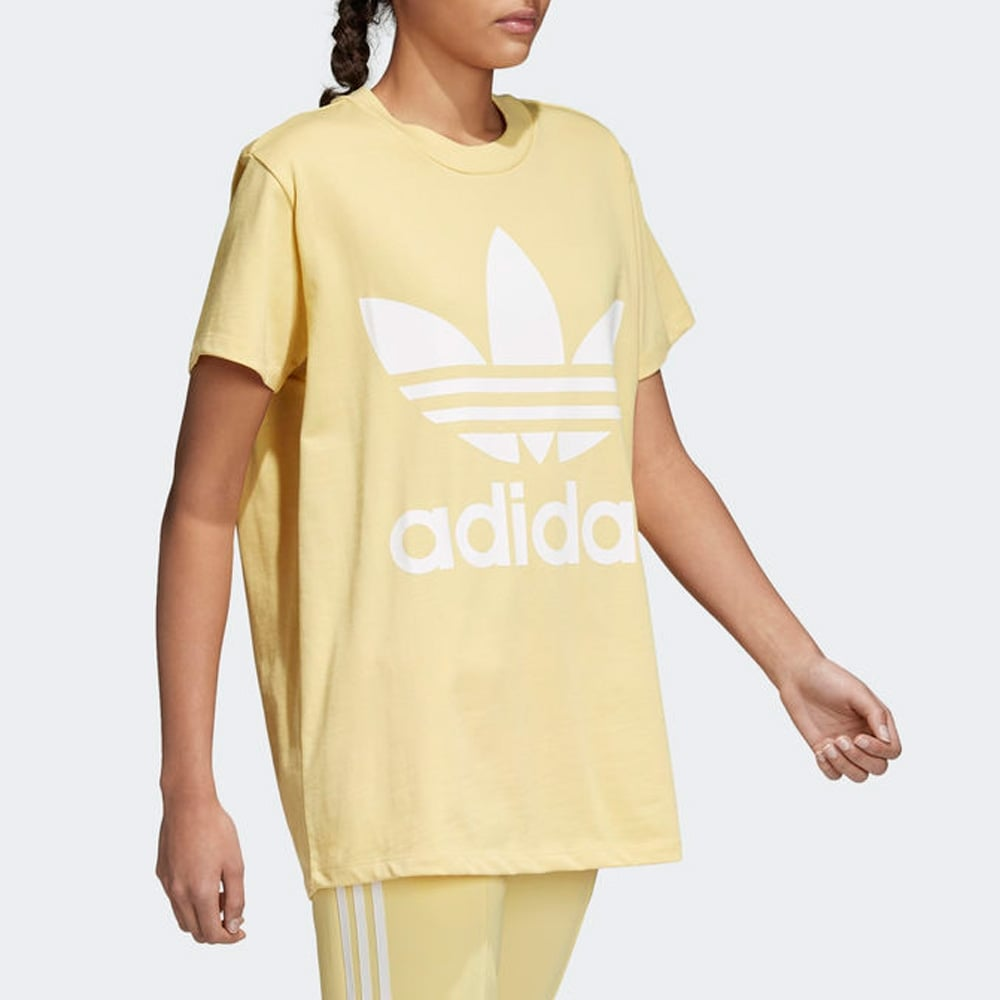 62d31b6a3bc Adidas Originals Women s Trefoil Oversize Tee - Womens Clothing from ...