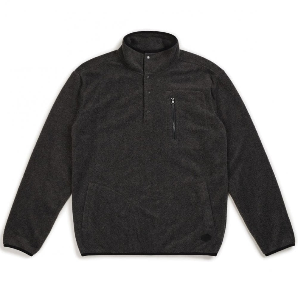 Brixton Mens Higgins Relaxed Fit Fleece Pullover
