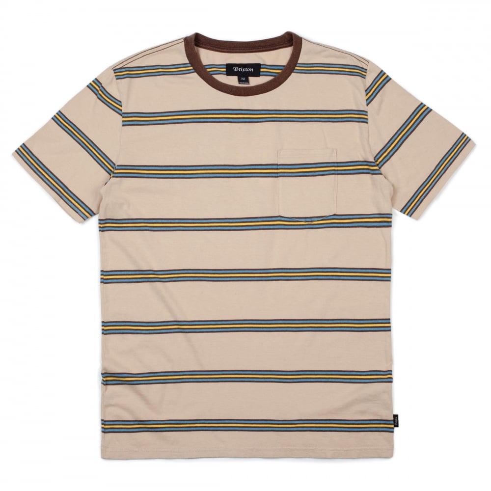dcf22ed8ea Brixton Hilt Washed S/s Pocket Tee - Mens Clothing from Cooshti.com