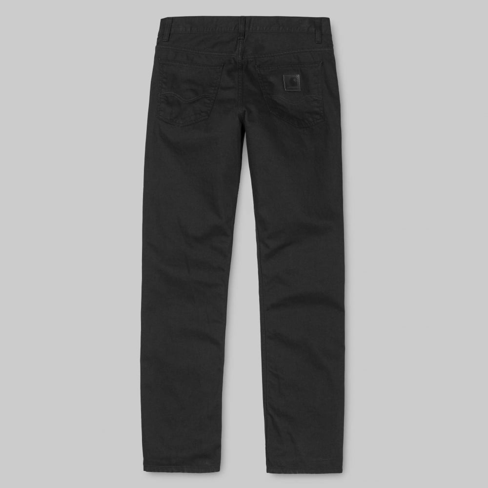 651a0b45 Carhartt Wip Texas Pant 'Chicago' Black Denim - Mens Clothing from ...