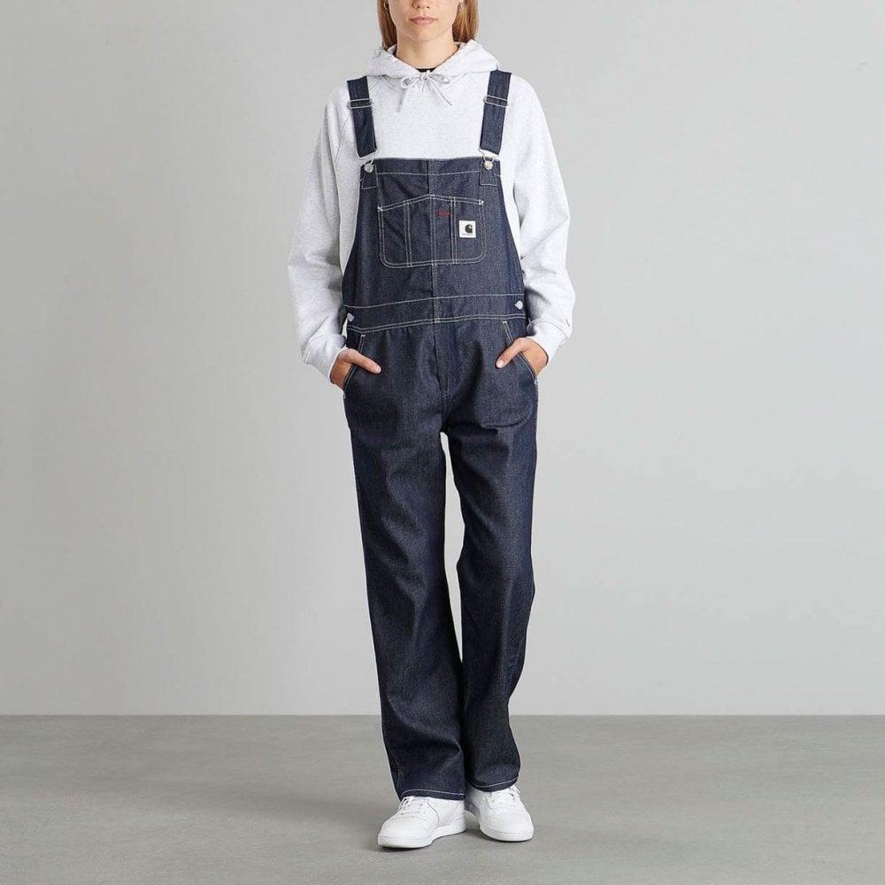 03312f36ed728 Carhartt Wip Womens W' Bib Overall Straight - Womens Clothing from ...