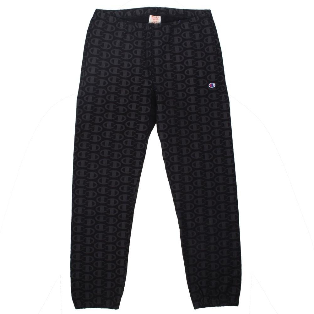 6dfb1d4741fe Champion Allover C Logo Print Reverse Weave Joggers - Mens Clothing ...