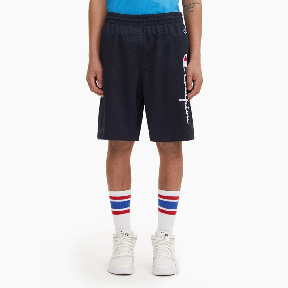 undefeated x running shoes pick up Basketball Mesh Script Logo Shorts