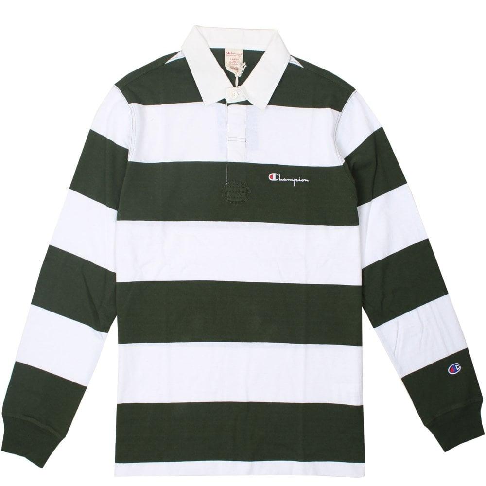 1754876d Champion Long Sleeved Polo Shirt - Mens Clothing from Cooshti.com