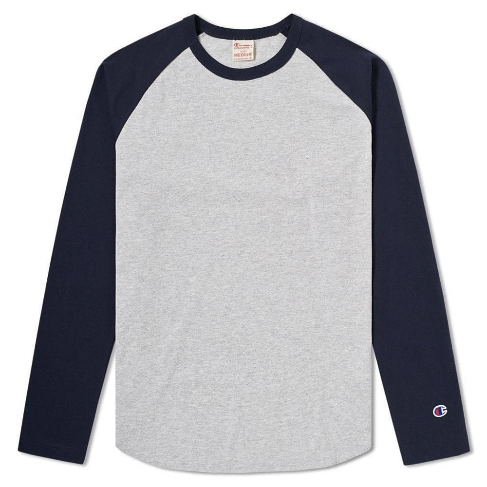 d100396da Champion Reverse Weave Baseball T-shirt - Mens Clothing from Cooshti.com