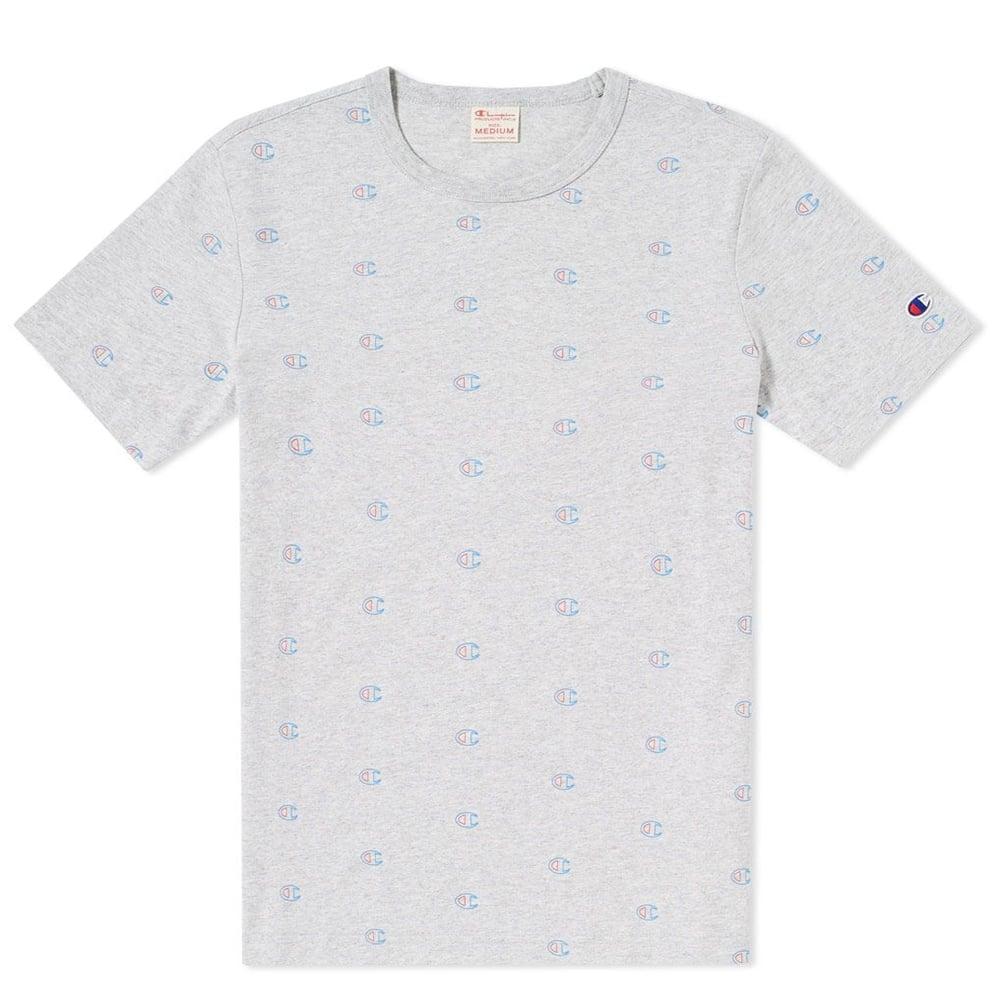 9cdb72ba Champion Reverse Weave Crewneck T-shirt All Over C Logo - Mens ...