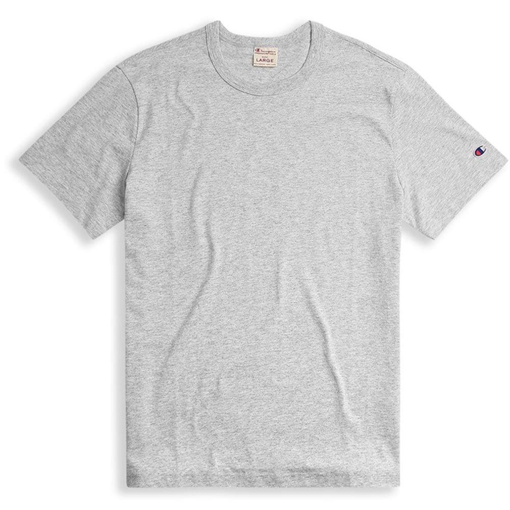 4bab87e3 Champion Reverse Weave Crewneck T-shirt Small C Logo - Grey Marl ...