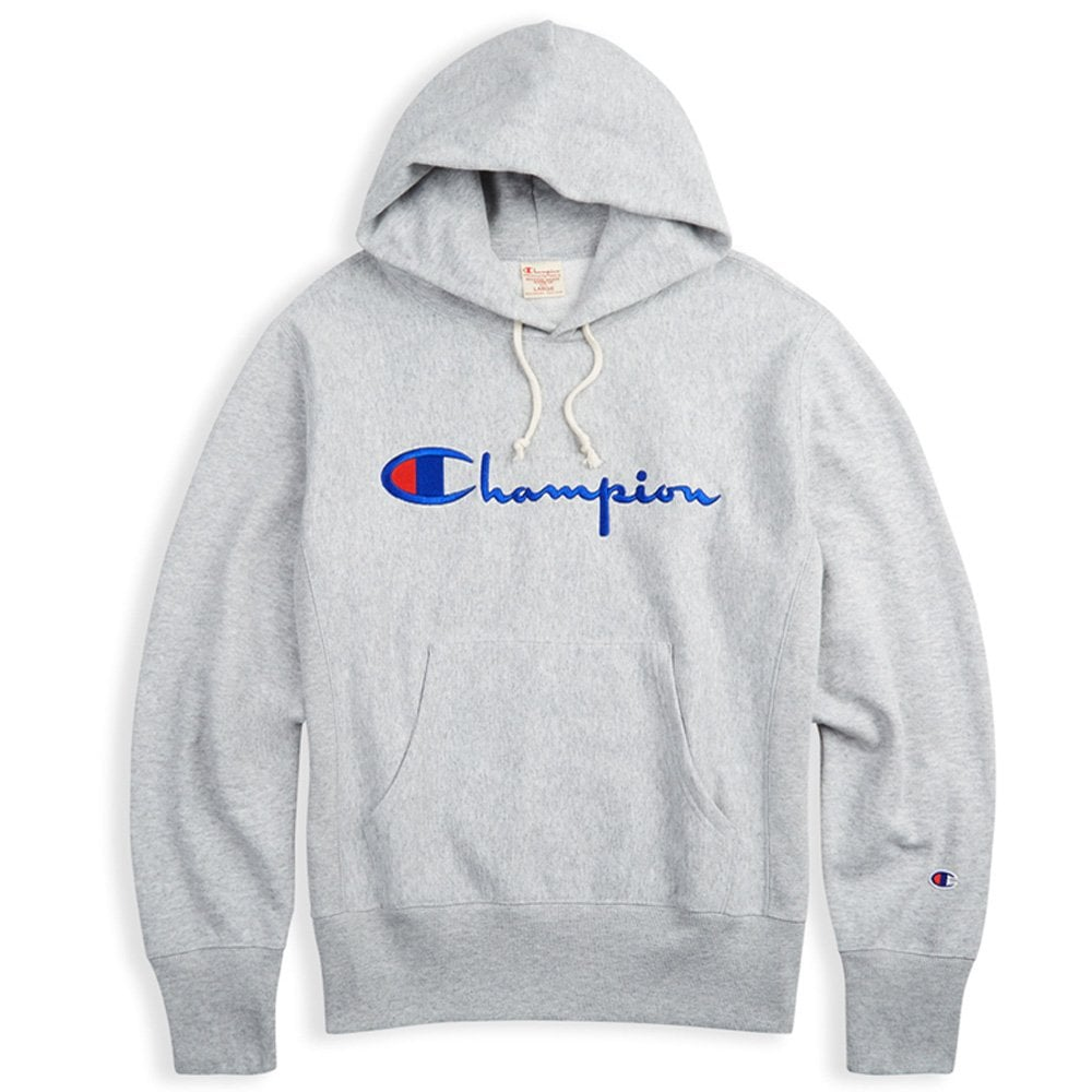 79a9d8adada7 Champion Reverse Weave Embroidered Script Logo Hoodie - Mens ...