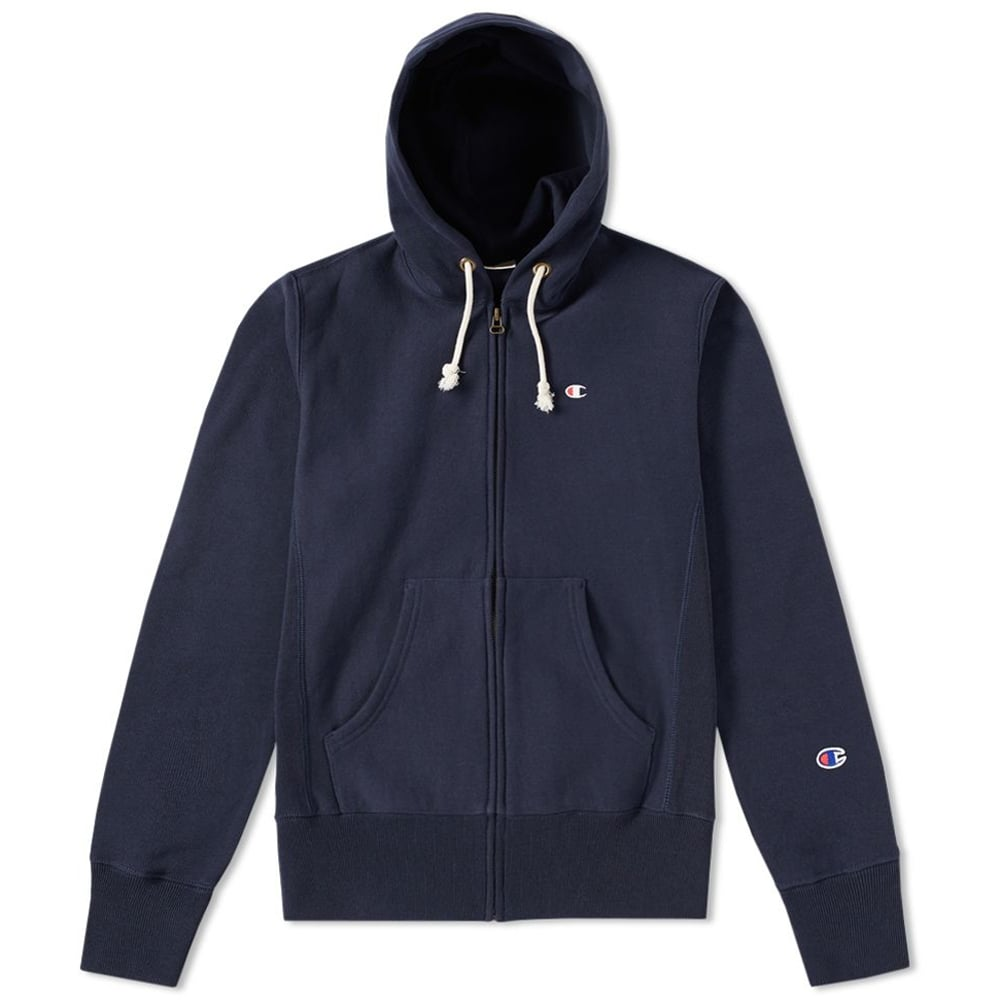 7bd4b1e114c5 Champion Reverse Weave Hooded Full Zip Sweatshirt - Mens Clothing ...
