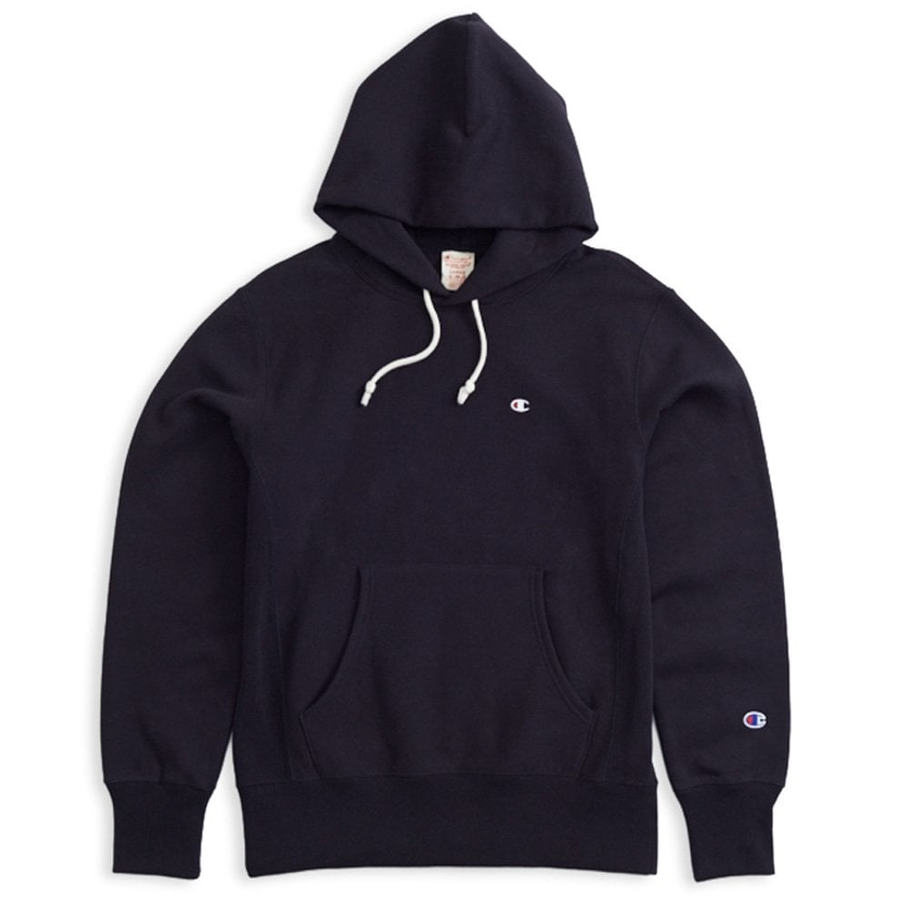 Champion Reverse Weave Hooded Sweatshirt Small C