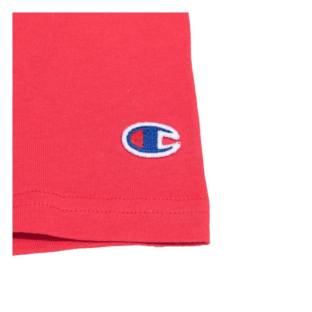 fb667471 Champion Reverse Weave Tri-Colour Script Logo Crewneck T-shirt ...