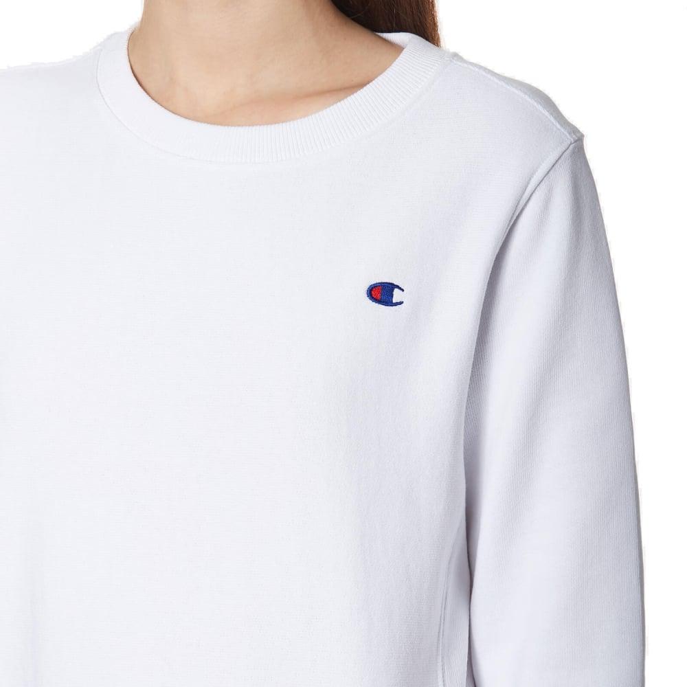 Clairance Site Officiel CHAMPION REVERSE WEAVE White Small Logo Sweatshirt Livraison Gratuite 2018 Nouveau Nouvelle Et De La Mode Meilleur Magasin Rabais Pour Obtenir jRnrCHrpUZ
