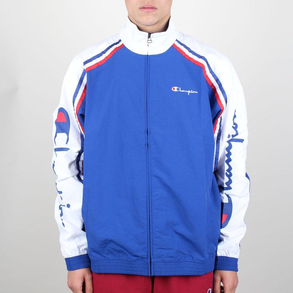 9b0f00cb9d029 Tri-Colour Full Zip Track Jacket