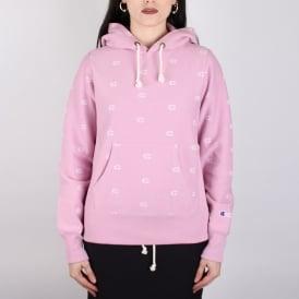Colour: MAUVE PINK/ALL OVER PRINT Champion Sweats & Hoodies