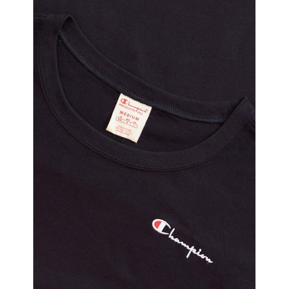 91254dda3c7a Champion Women's Script Logo Long Sleeve Crew Neck T-Shirt - Womens ...